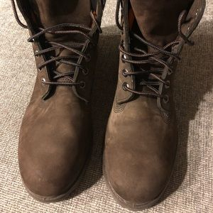 Men's Timberland 6 Inch Brown Boots Size 9.5